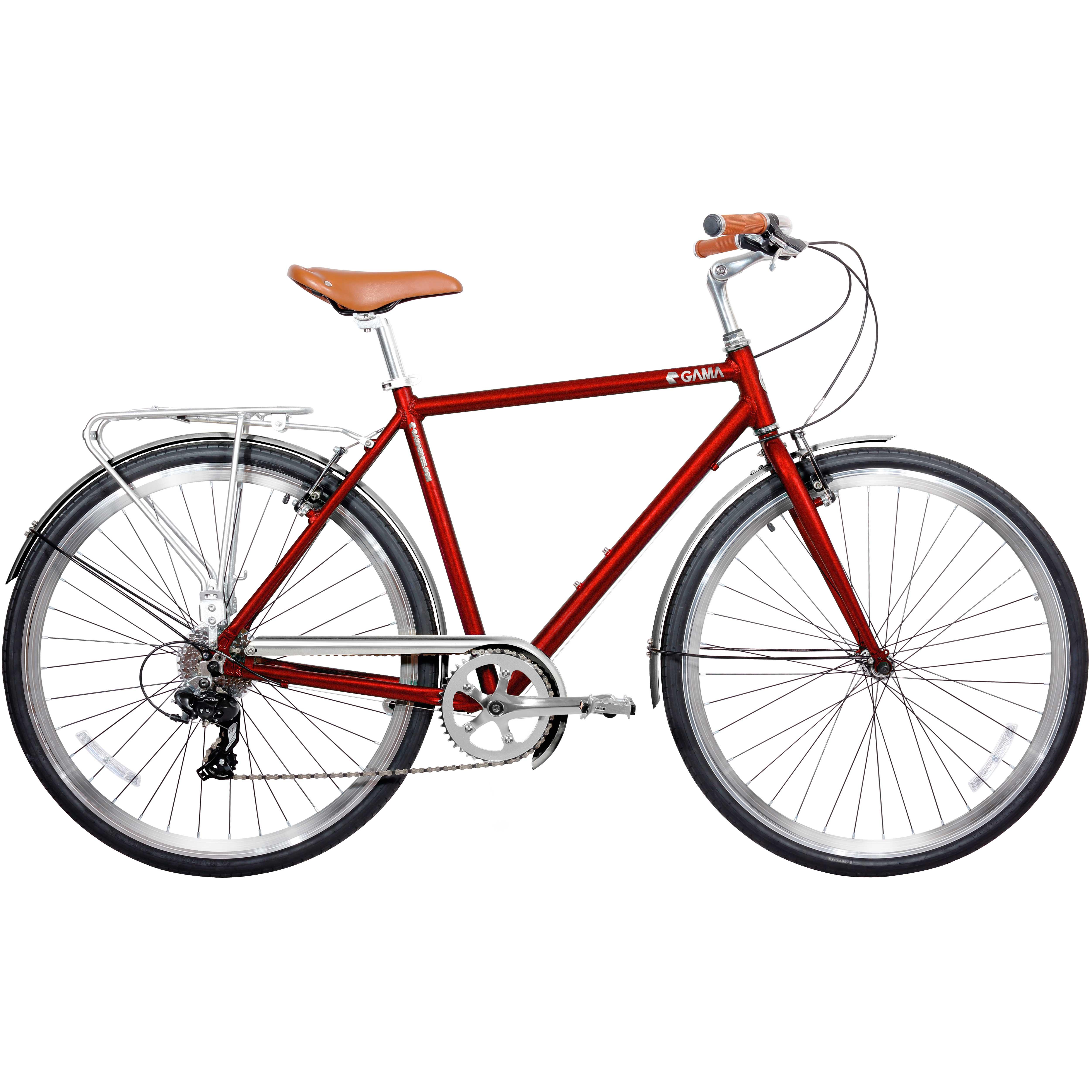 Bicicleta Gama 28 Metropole Men Talla 19 Burgundy 702038339274